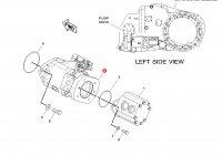 Насос гидравлический трактора Challenger (87cc) — 206-9017