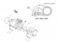 Насос гидравлический трактора Challenger (63cc) — 206-9019