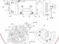 Стартер трактора Challenger — 207-1521