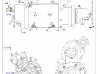 Стартер трактора Challenger — 207-1539
