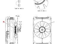Вискомуфта вентилятора трактор Challenger — 207-1608