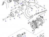 Шкив (ролик) ремня генератора двигателя Sisu Diesel — 836866619