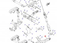 Левая тяга навески трактора Challenger — 213-7061