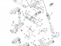 Правая тяга навески трактора Challenger — 213-7062