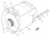 Генератор трактора Challenger — 220-4995