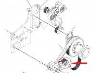 Натяжной ролик ремня трактор Challenger — 221-1233