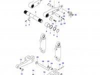 Правый рычаг навески трактора (K36108-) — 34200510