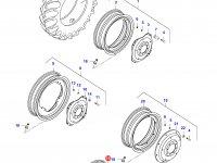 Задний колесный диск - DW18x38 (Rxx) — 35641310