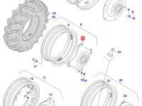 Вставка заднего колесного диска трактора (фланцевая гайка) — 31399510