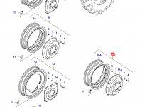 Задний колесный диск - TW18Lx42 — 39736600