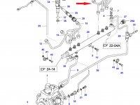 Топливная трубка четвертого цилиндра двигателя Sisu Diesel — 837070080