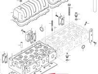 Прокладка ГБЦ двигателя Sisu Diesel — 837070290