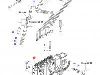 Топливный насос высокого давления (ТНВД) двигателя Sisu Diesel — 836854963