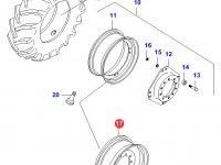 Передний колесный диск - 15Lx28(*, offset 0mm) — 32753900