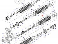 Диск фрикционный узла DPS — 35015100