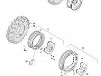 Передний колесный диск - W12x24(fixed) — 36129300