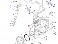 Топливный насос высокого давления (ТНВД) двигателя Sisu Diesel — 836439895
