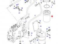 Топливный фильтр (тонкой очистки) двигателя Sisu Diesel — 20331343