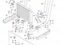Патрубок интеркулера двигателя Sisu Diesel — 34581700