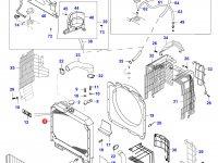 Радиатор двигателя Sisu Diesel — 33564800