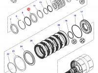 Подшипник узла двойного сцепления КПП трактора Challenger — 3010462X1