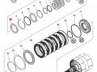 Подшипник узла двойного сцепления КПП трактора Challenger — 3012104X1