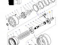 Подшипник мультипликатора КПП трактора Massey Ferguson — 3014983X1