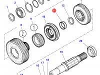 Игольчатый подшипник ведомого вала КПП трактора Massey Ferguson — 3015175X1