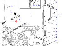 Шар(яблоко) навески для трактора Massey Ferguson (CAT 2/3) — 3042433M1