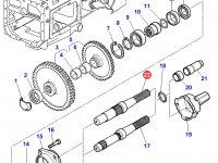 Хвостовик вала отбора мощности (ВОМ) трактора Massey Ferguson — 3382072M6