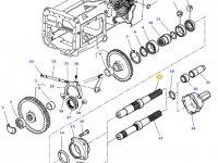 Хвостовик вала отбора мощности (ВОМ) трактора Massey Ferguson — 3382072M7