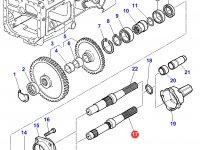 Хвостовик вала отбора мощности (ВОМ) трактора Massey Ferguson — 3382073M9