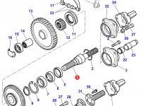 Хвостовик вала отбора мощности (ВОМ) трактора Massey Ferguson — 3382074M10
