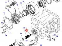 Игольчатый подшипник вала понижающей передачи КПП трактора Massey Ferguson — 3382120M1