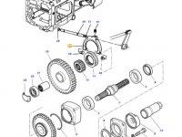 Вилка включения муфты ВОМ трактора Massey Ferguson — 3382971M1