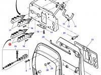Тормозной цилиндр для тракторов Massey Ferguson — 3383079M6