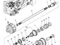 Вилка включения муфты ВОМ трактора Challenger — 3383577M2