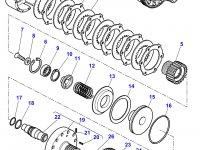 Диск фрикционный муфты ВОМ трактора Massey Ferguson — 3387347M1