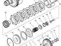 Диск фрикционный муфты ВОМ трактора Challenger — 3387347M1