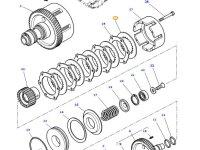 Диск фрикционный муфты ВОМ трактора Massey Ferguson — 3387347M2