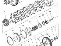 Диск фрикционный муфты ВОМ трактора Challenger — 3387347M2