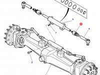 Шарнирный наконечник рулевой тяги трактора Massey Ferguson (полный привод) — 3426312M1