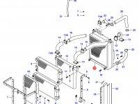 Радиатор двигателя Sisu Diesel — 34014800