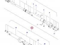 Рулевой цилиндр трактора — 32263100