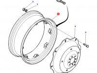 Задний колесный диск трактора Challenger (DWW15Lx38) — 3581789M3
