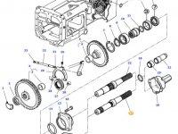 Хвостовик вала отбора мощности (ВОМ) трактора Massey Ferguson — 3582533M6