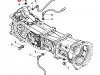 Датчик скорости оборотов ВОМ трактора Massey Ferguson (Длина 107 мм) — 3583286M1
