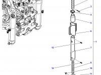 Шарнирная головка/винт раскоса навески трактора Massey Ferguson — 3583934M2