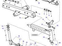 Рулевой наконечник трактора Massey Ferguson (задний ведущий мост) — 3599679M92