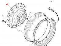 """Вставка заднего колесного диска трактора Challenger (38"""") — 3615370M4"""